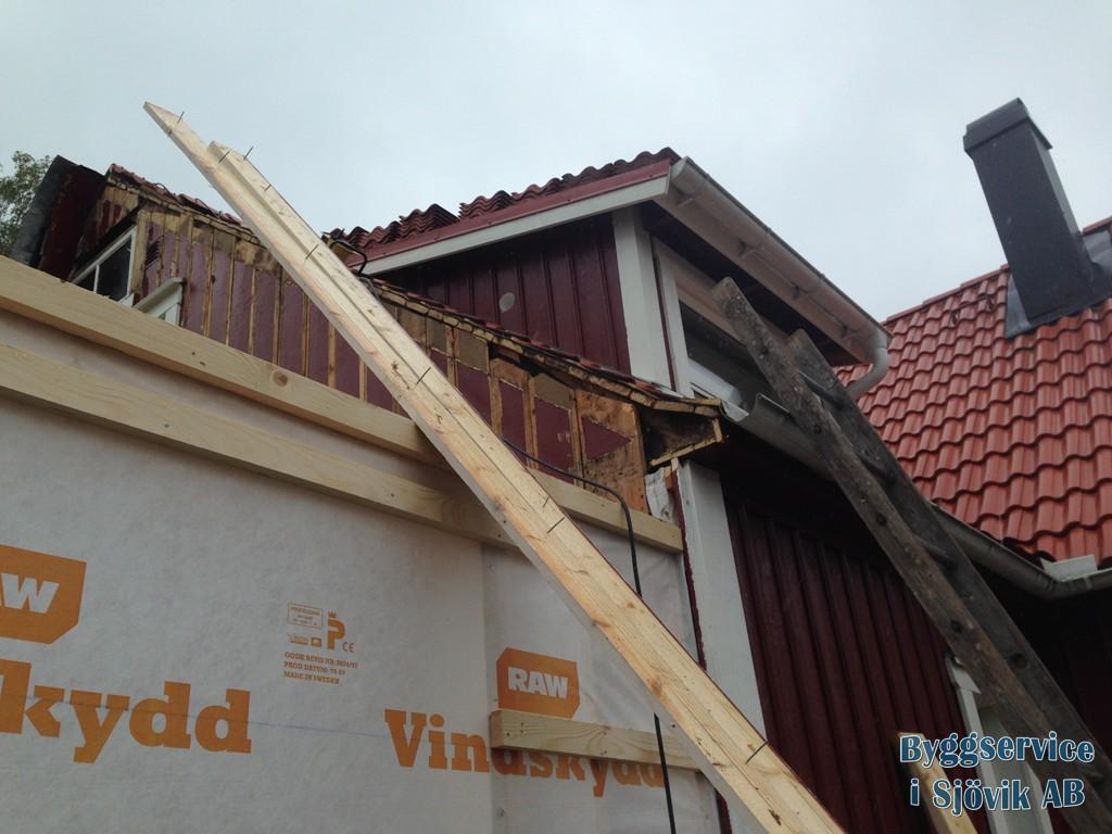 Tillbyggnad Bilder Byggservice i Sjövik Takläggare Alingsås Bygg Lerum